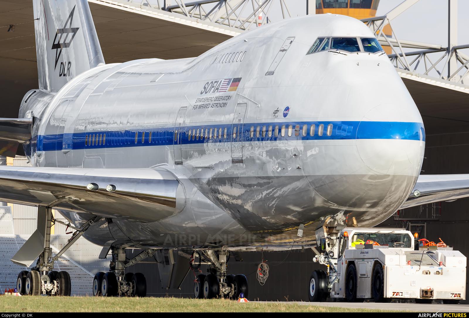 NASA N747NA aircraft at Hamburg - Fuhlsbüttel
