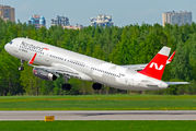VQ-BRS - Nordwind Airlines Airbus A321 aircraft