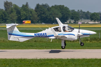 N166AS - Private Diamond DA 42 Twin Star