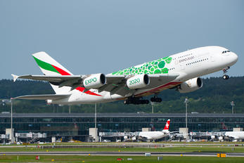 A6-EOJ - Emirates Airlines Airbus A380