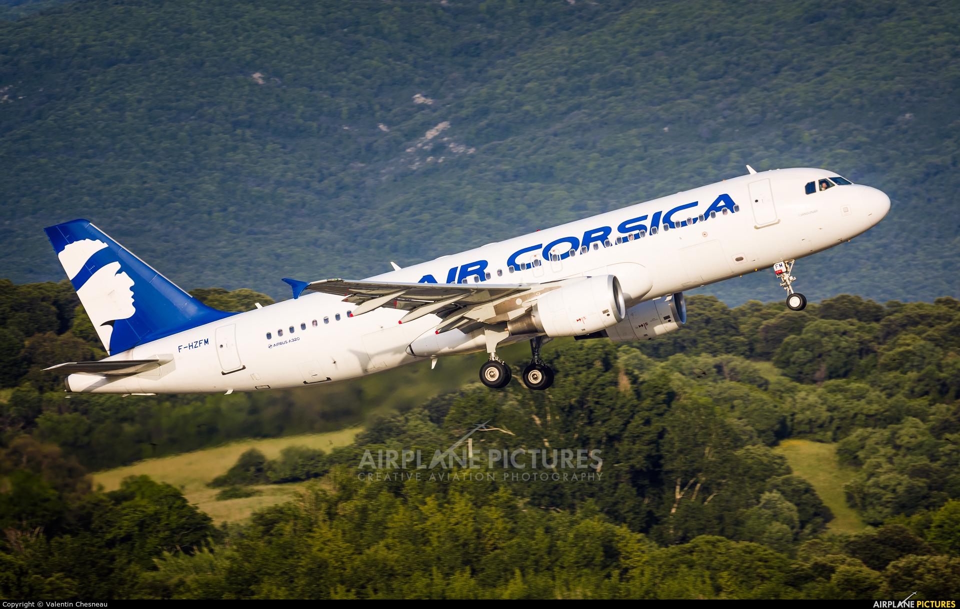 Air Corsica F-HZFM aircraft at Ajaccio - Campo dell