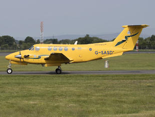 G-SASD - Scottish Ambulance Service Beechcraft 200 King Air