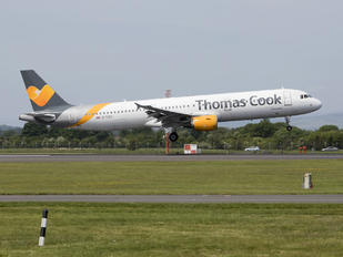 G-TCDX - Thomas Cook Airbus A321