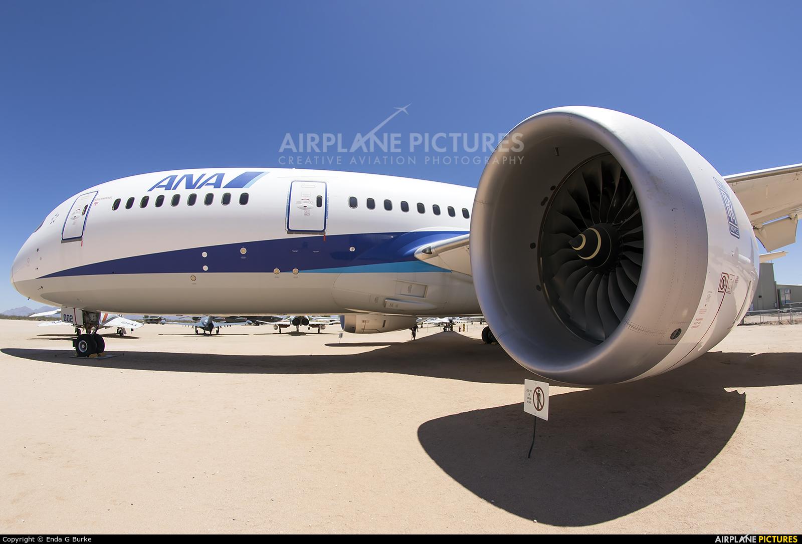ANA - All Nippon Airways N787EX aircraft at Tucson - Pima Air & Space Museum