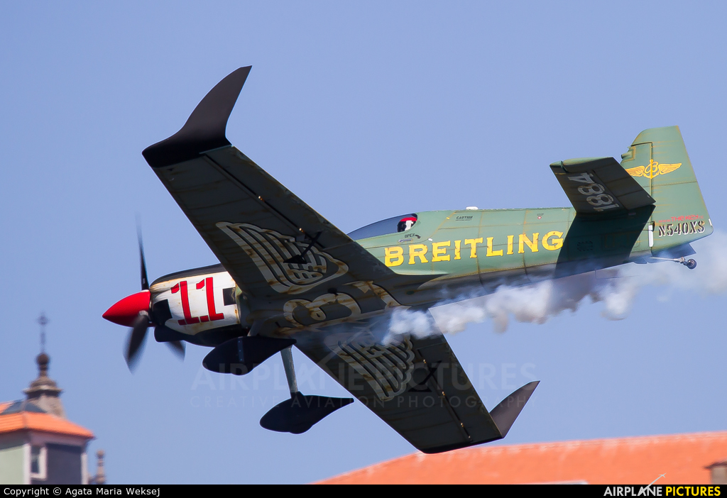 Breitling Devils N540XS aircraft at Off Airport - Portugal