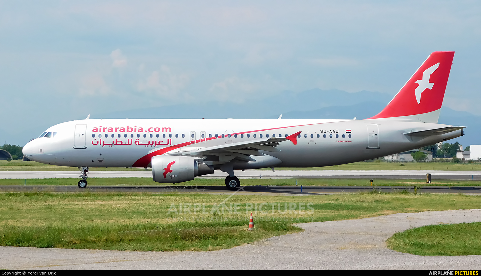 Air Arabia (Egypt) SU-AAD aircraft at Verona - Villafranca