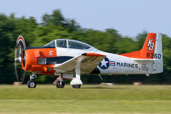 F-AYVF - Private North American T-28B Trojan