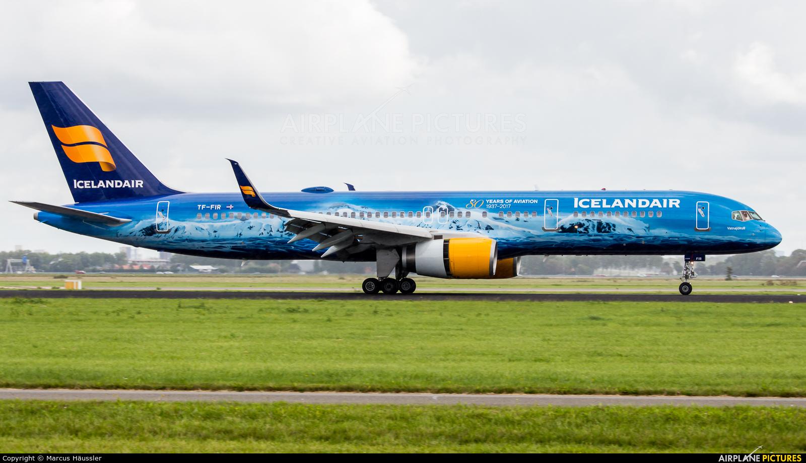 Icelandair TF-FIR aircraft at Amsterdam - Schiphol