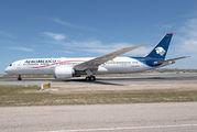 XA-ADH - Aeromexico Boeing 787-9 Dreamliner aircraft