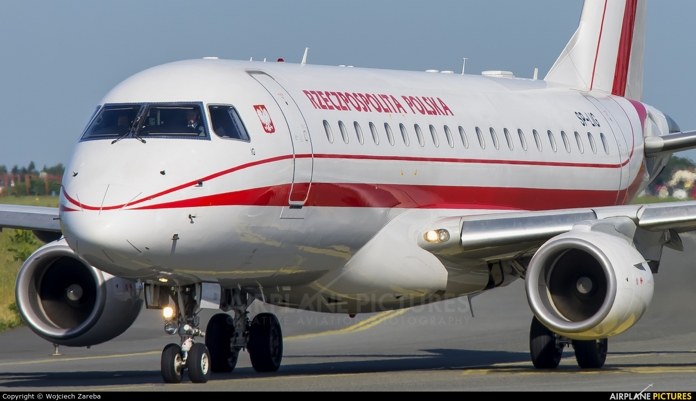 Poland - Government SP-LIG aircraft at Warsaw - Frederic Chopin