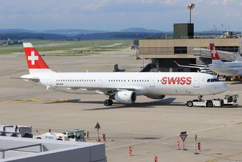 HB-IOD - Swiss Airbus A321