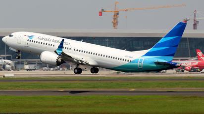 PK-GDA - Garuda Indonesia Boeing 737-8 MAX