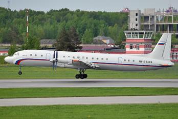 RF-75499 - Russia - Air Force Ilyushin Il-18 (all models)