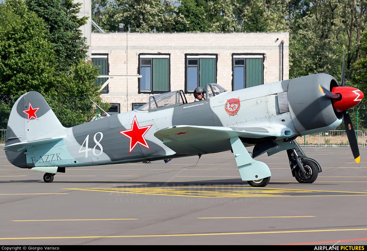 Private F-AZZK aircraft at Poznań - Ławica