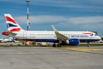 G-TTNA - British Airways Airbus A320 NEO