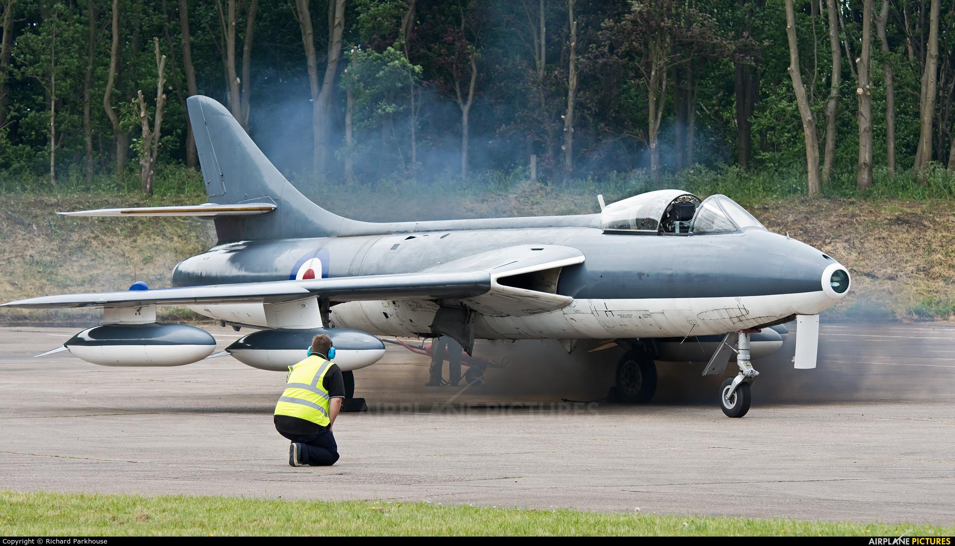 Royal Air Force WT806 aircraft at Bruntingthorpe