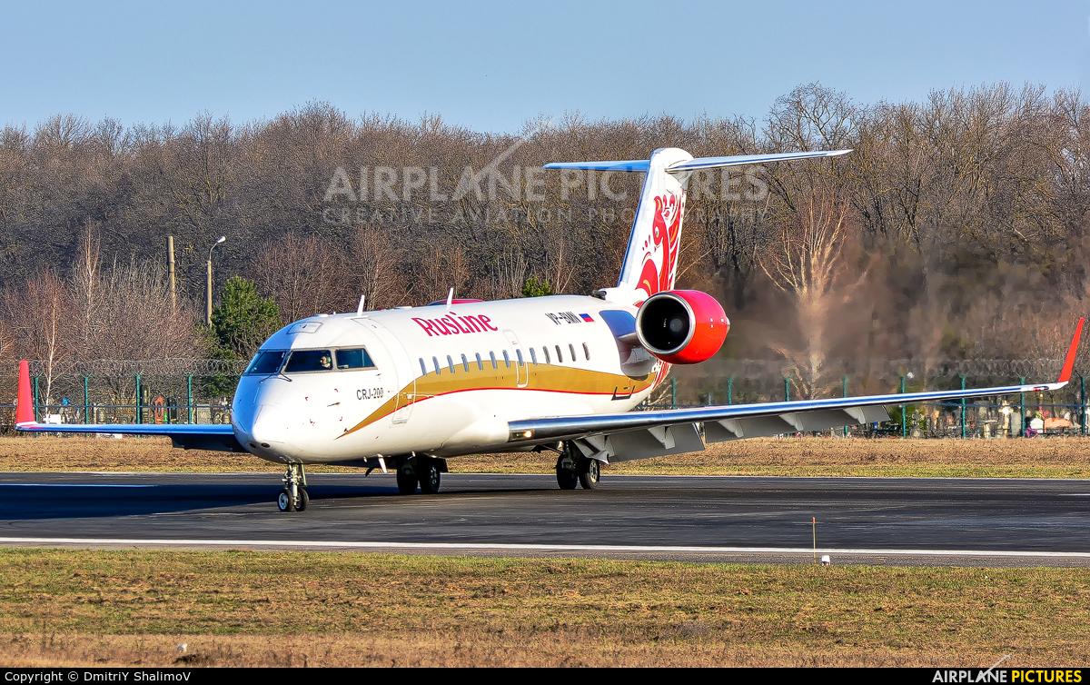 Rusline VP-BMN aircraft at Belgorod Intl
