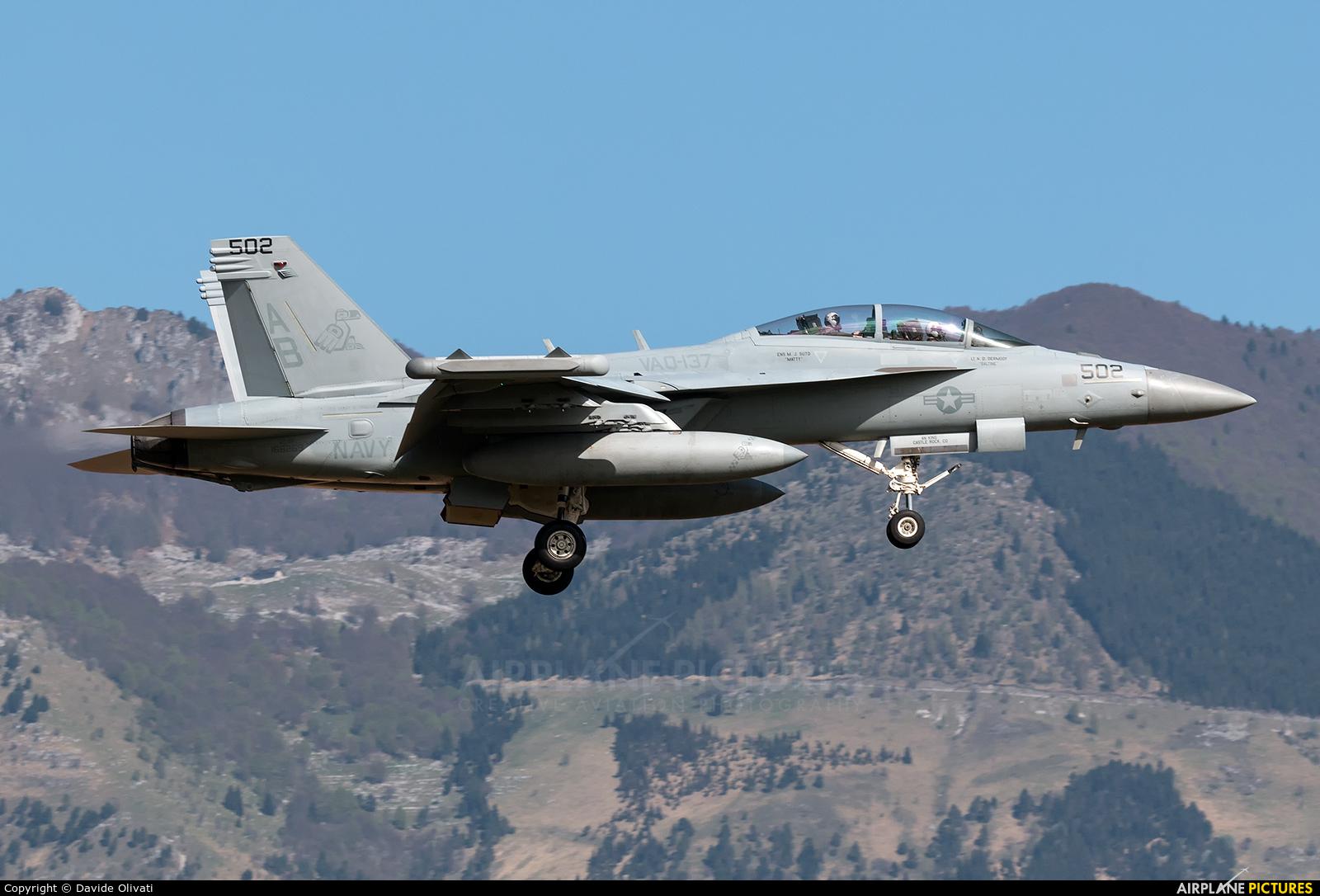 USA - Navy 168269 aircraft at Aviano