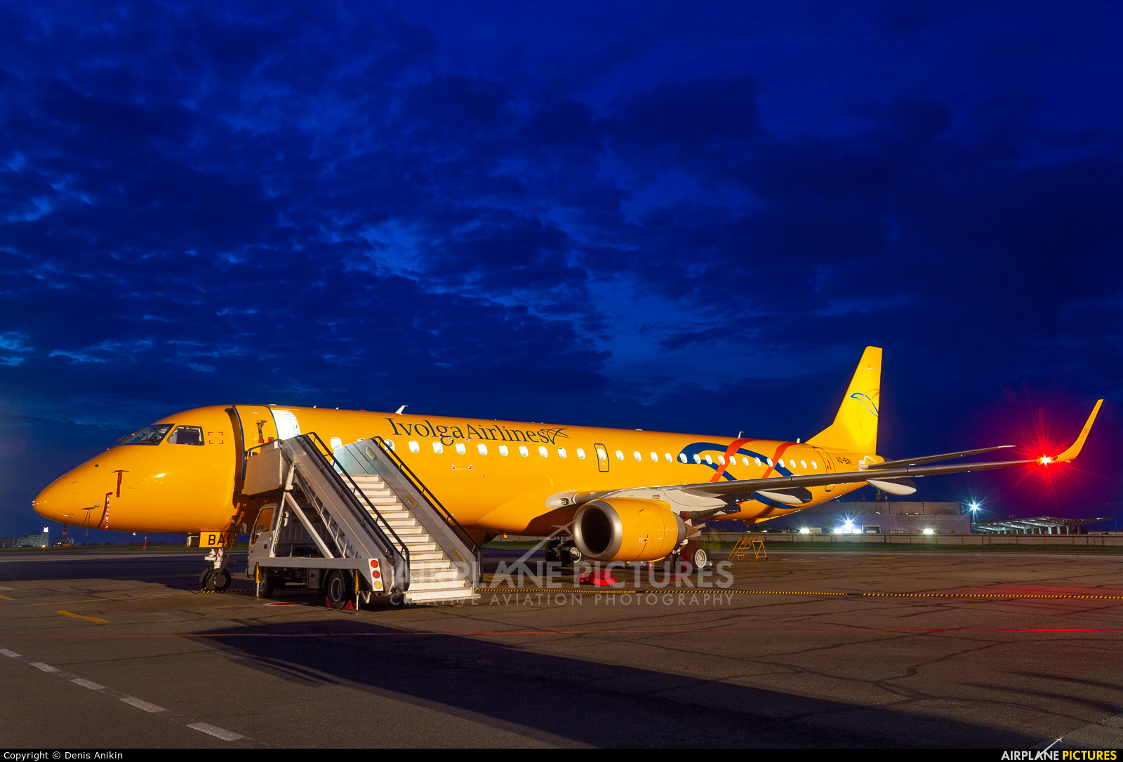 Saratov Airlines VQ-BAI aircraft at Saratov Tsentralny