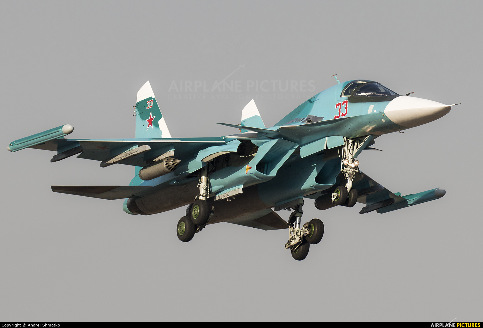 Russia - Air Force 33 aircraft at Off Airport - Russia