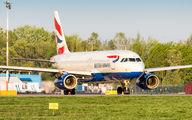 G-EUYC - British Airways Airbus A320 aircraft