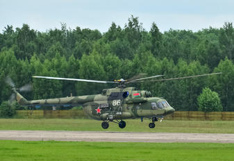 86 WHITE - Belarus - Air Force Mil Mi-8MTV-5