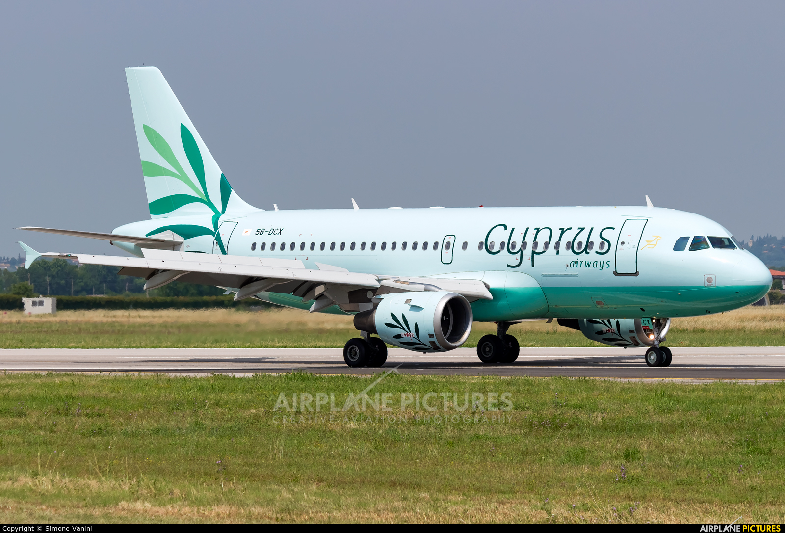 Cyprus Airways 5B-DCX aircraft at Verona - Villafranca