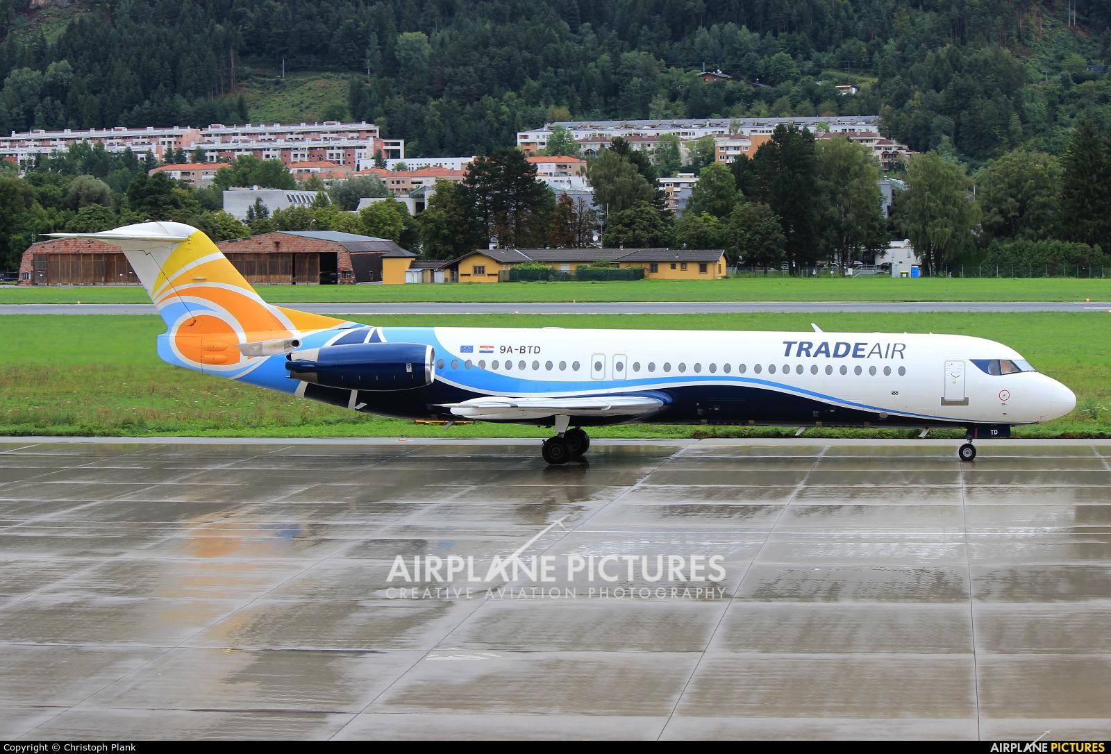 Trade Air 9A-BTD aircraft at Innsbruck