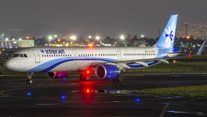 XA-MAP - Interjet Airbus A321 NEO