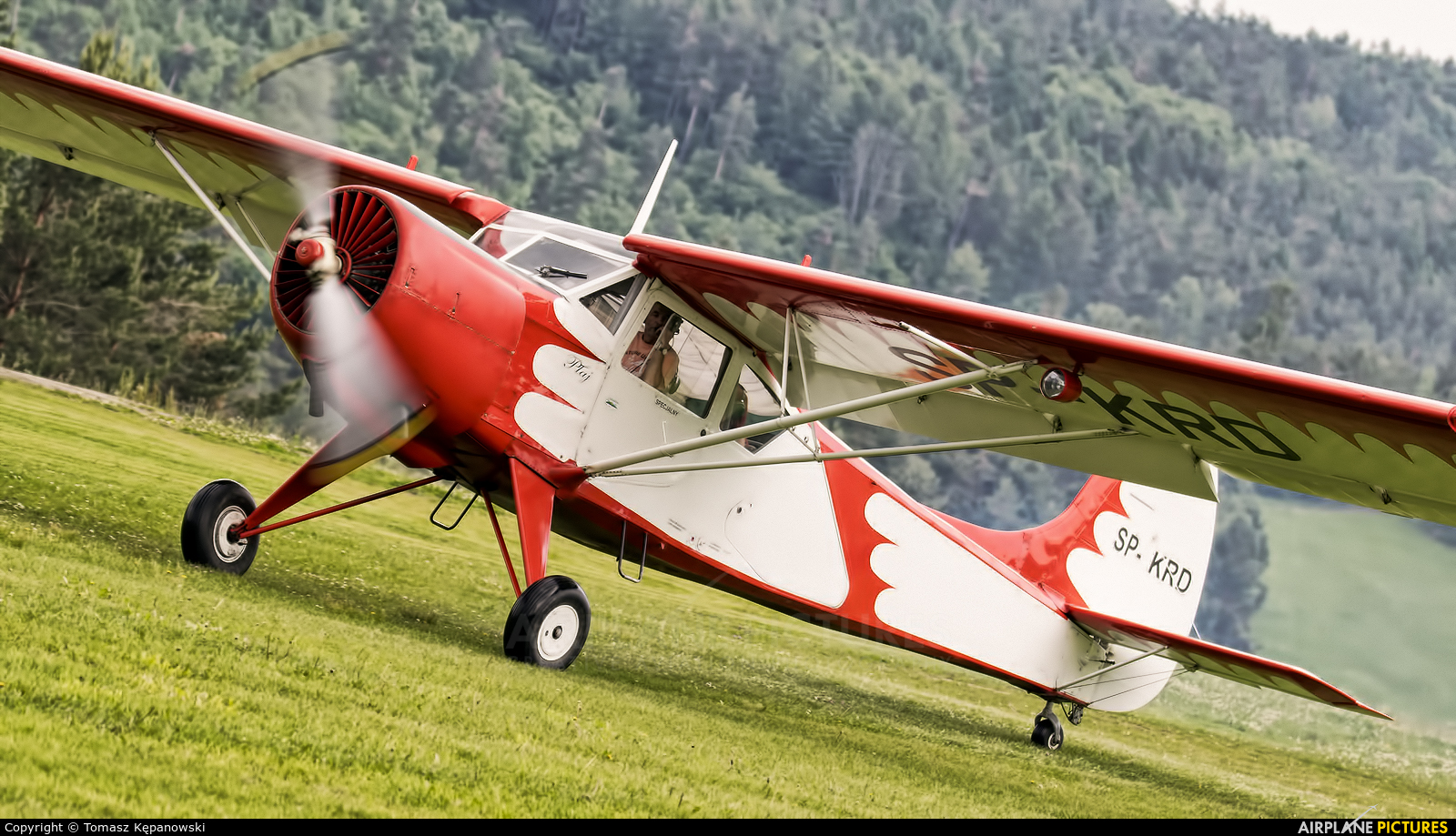 Private SP-KRD aircraft at Off Airport - Poland