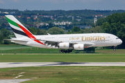 A6-EDQ - Emirates Airlines Airbus A380 aircraft