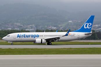 EC-MJU - Air Europa Boeing 737-800