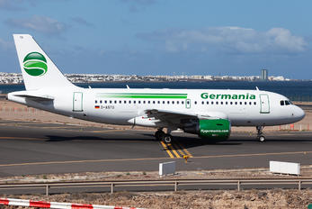 D-ASTG - Germania Airbus A319
