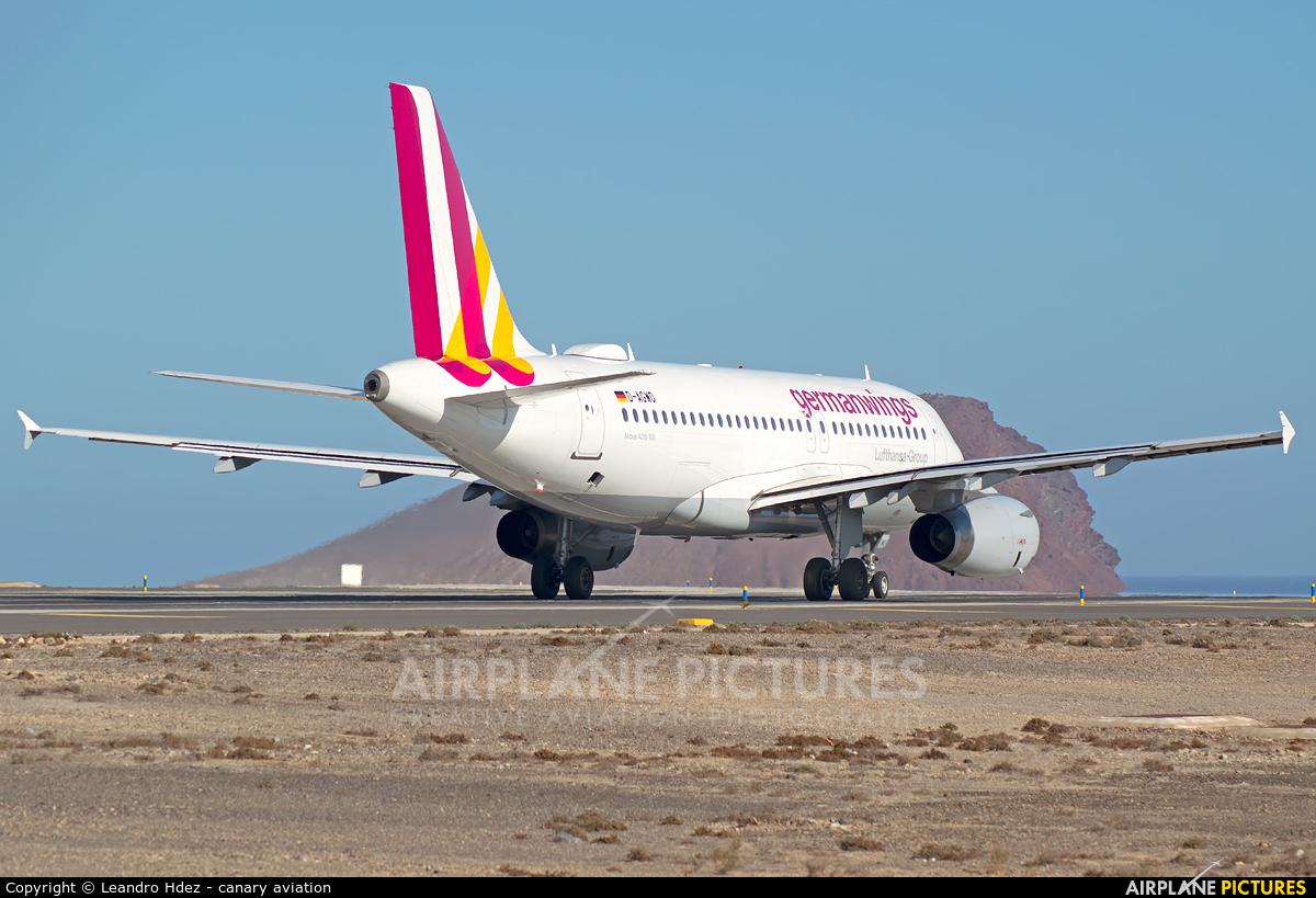 Germanwings D-AGWO aircraft at Tenerife Sur - Reina Sofia