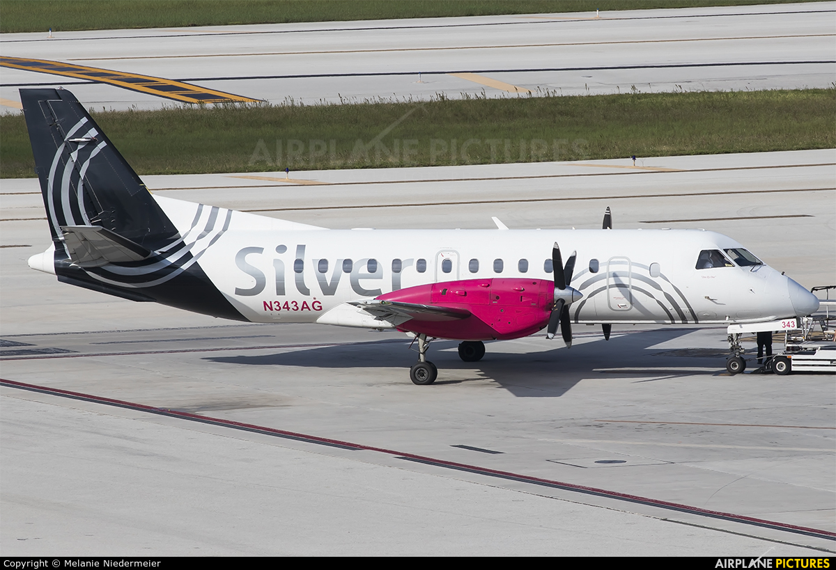 Silver Airways N343AG aircraft at Fort Lauderdale - Hollywood Intl