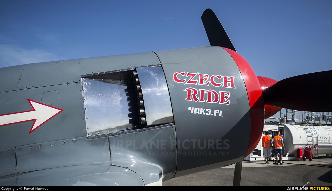 Private F-AZYF aircraft at Krosno