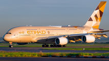 A6-APF - Etihad Airways Airbus A380 aircraft
