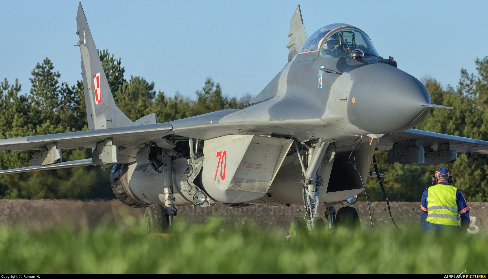 Poland - Air Force 70 aircraft at Świdwin