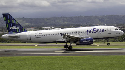 N584JB - JetBlue Airways Airbus A320