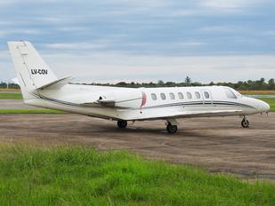 LV-COV - Private Cessna 560 Citation V