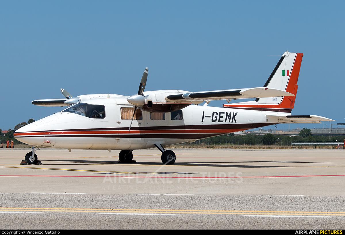 Private I-GEMK aircraft at Bari