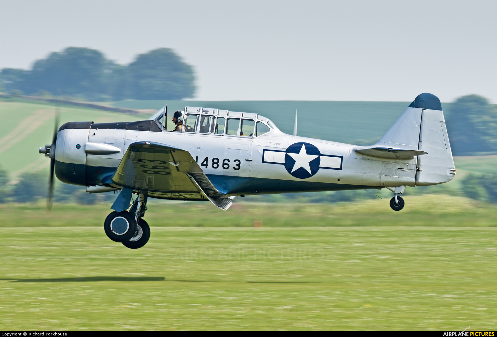 Private G-BGOR aircraft at Duxford