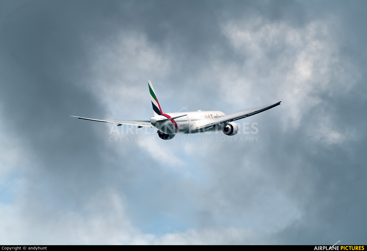Emirates Airlines A6-EQE aircraft at Singapore - Changi