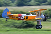 G-BRUJ - Private Boeing Stearman, Kaydet (all models) aircraft
