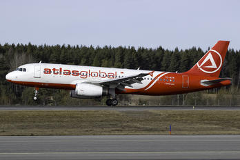 TC-ATK - Atlasglobal Airbus A320