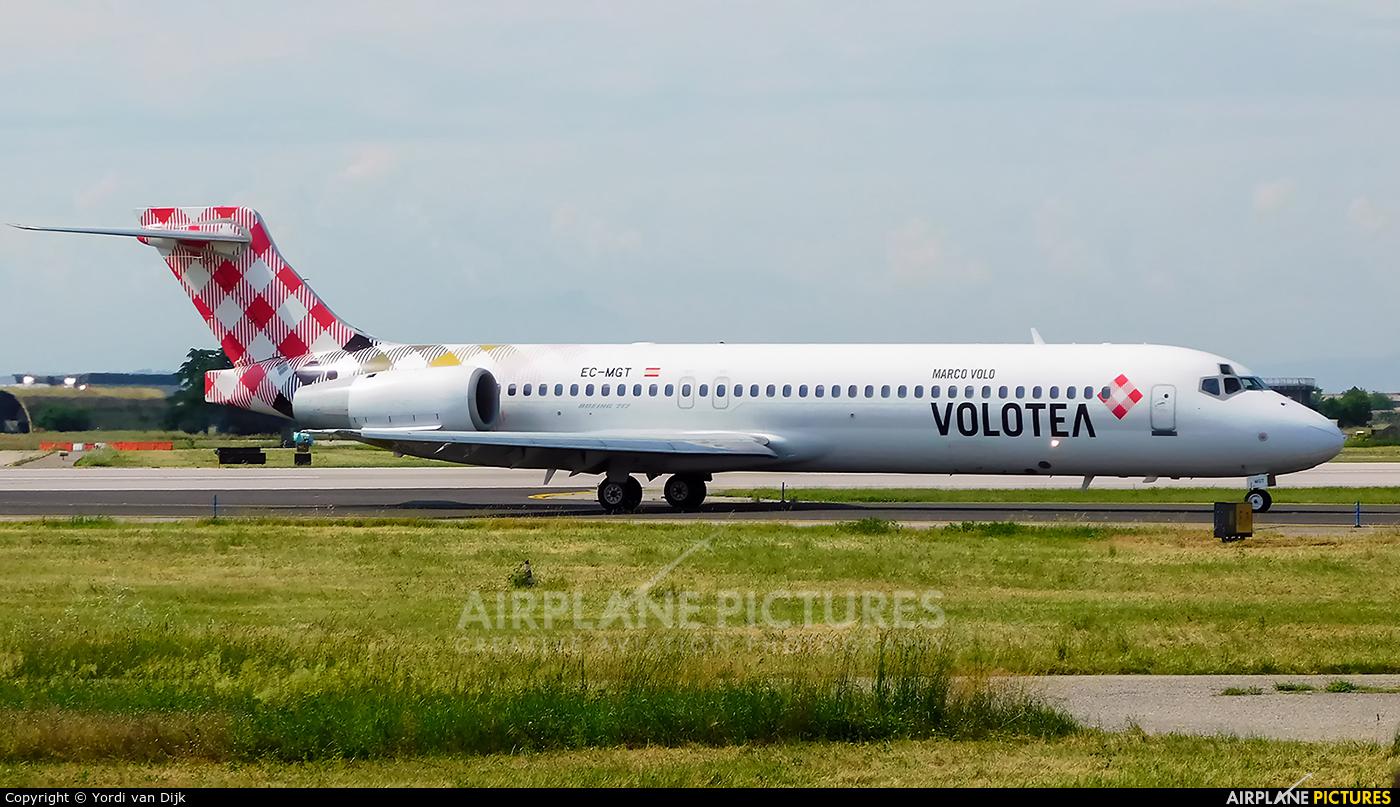Volotea Airlines EC-MGT aircraft at Verona - Villafranca