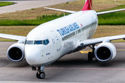 TC-JHU - Turkish Airlines Boeing 737-800 aircraft