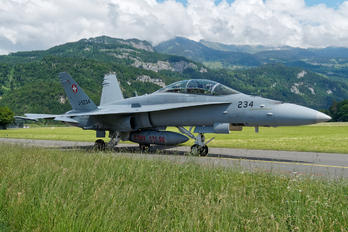 J-5234 - Switzerland - Air Force McDonnell Douglas F/A-18D Hornet