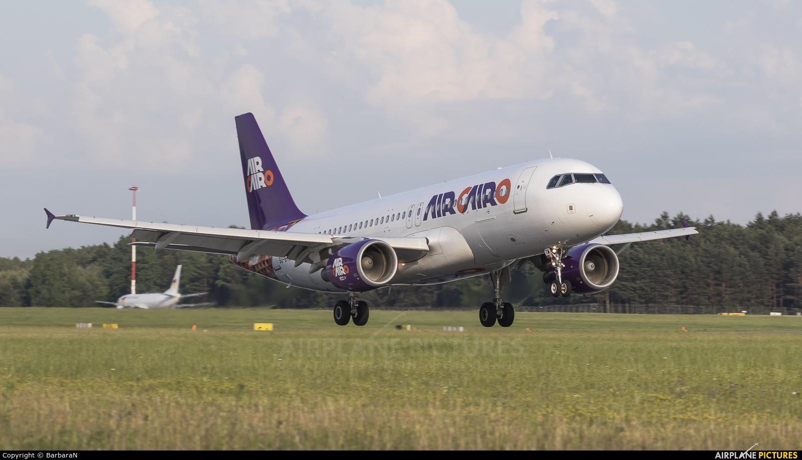 Air Cairo SU-BTM aircraft at Katowice - Pyrzowice