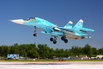 RF-95846 - Russia - Air Force Sukhoi Su-34
